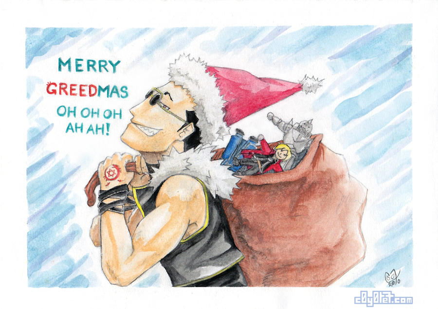 Merry Greedmas_FMA by C0y0te7