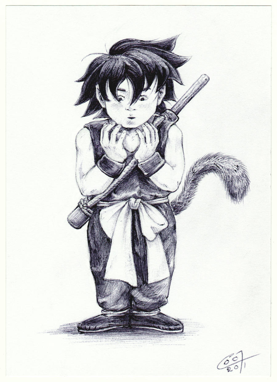 Goku by C0y0te7