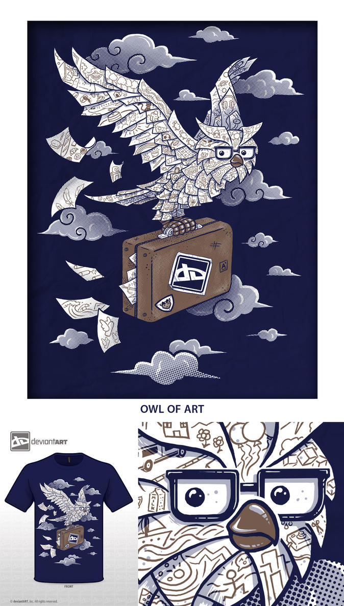 Owl of Art by C0y0te7