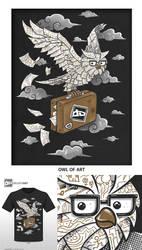 Owl of Art by C0y0te7