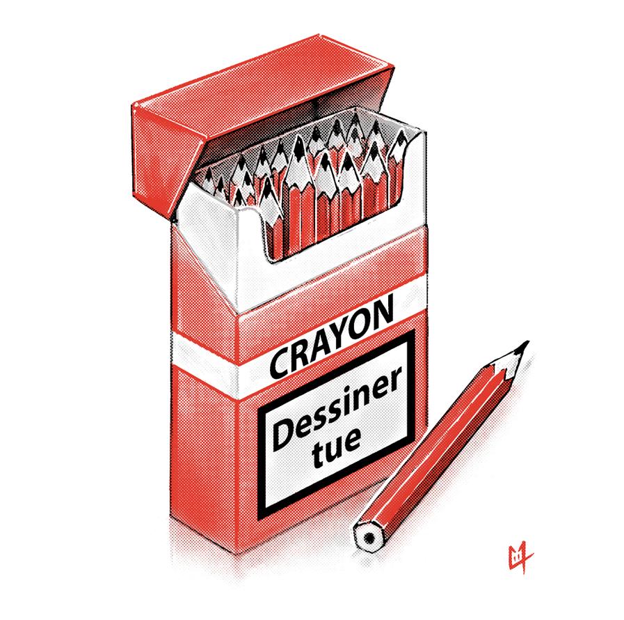 Dessiner tue? by C0y0te7