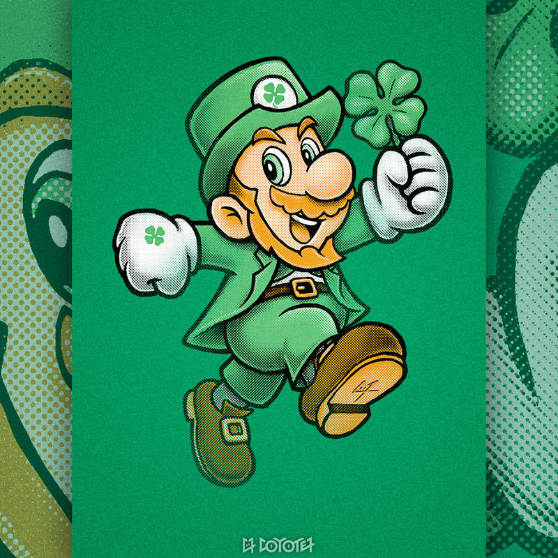 Lucky Mario by C0y0te7