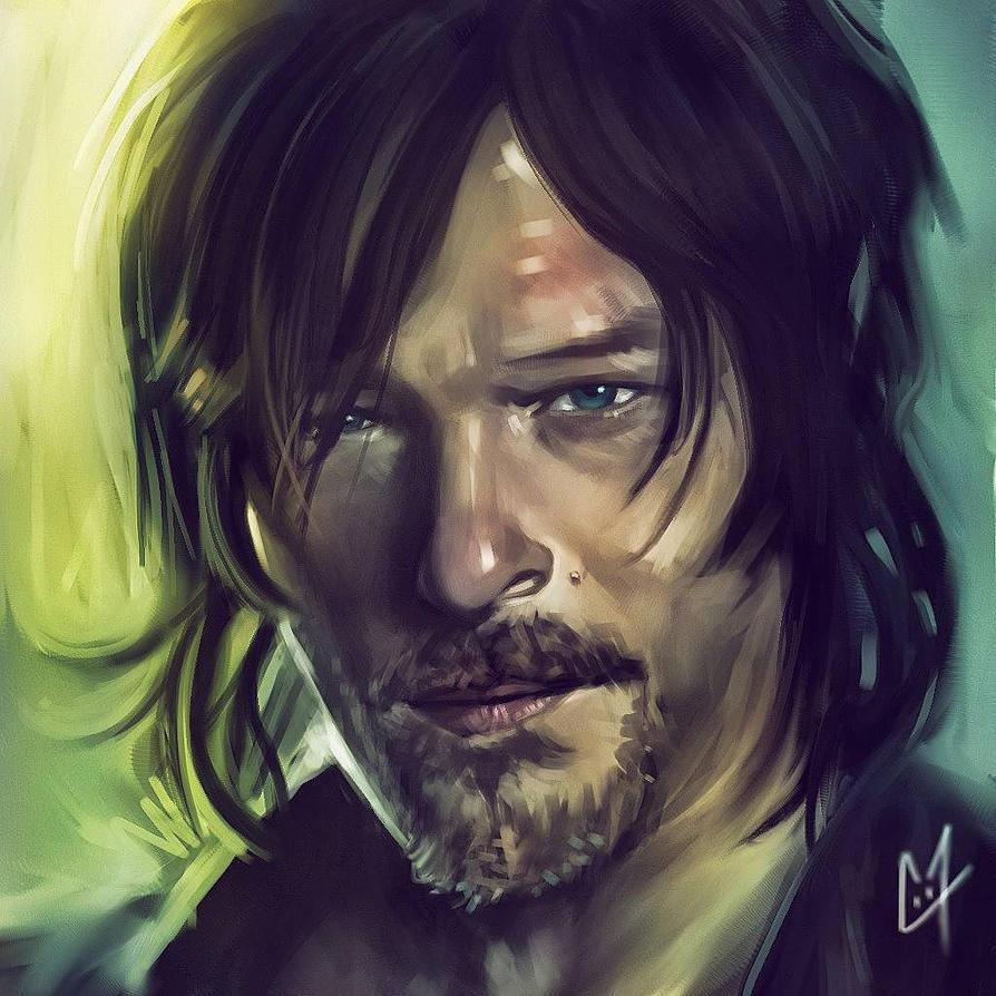 Daryl Dixon by C0y0te7