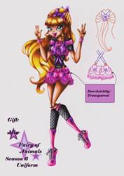 Gift: Mia, fairy of animals season 6 uniform by Kleiner-Schmetterlin