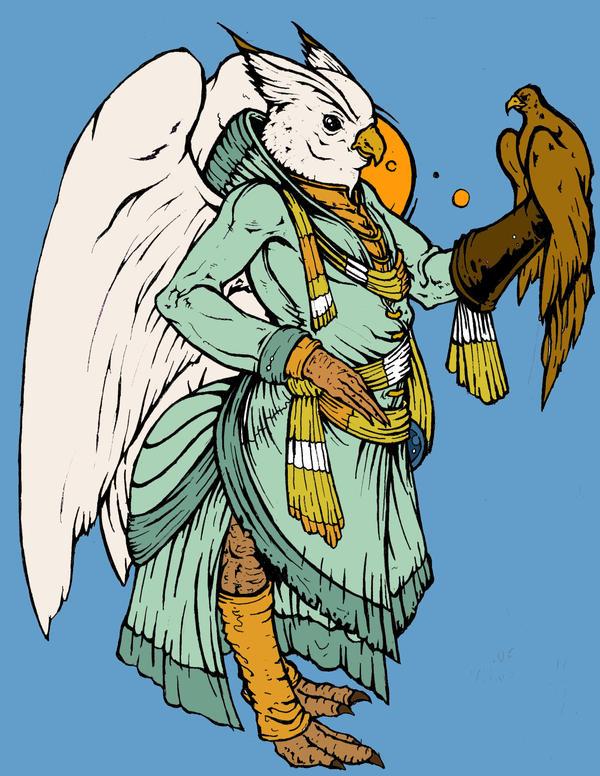 Bird Wizard B by TheKidIsGreen