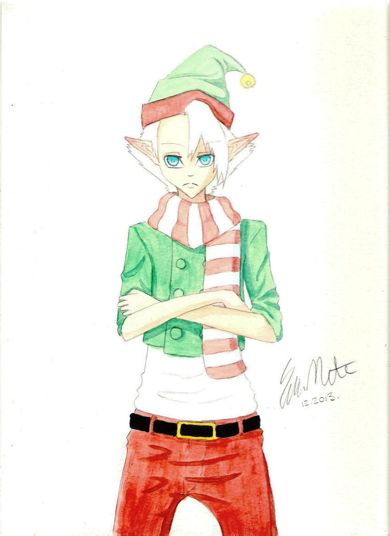 Merry Christmas from Santa's Little Helper by Hinata4405