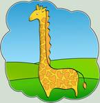 Giraffe with Love