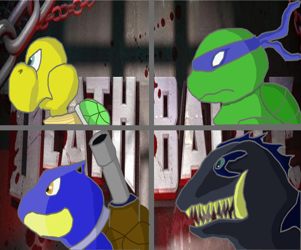 Turtles of DEATH BATTLE(Updated) by Saurian96