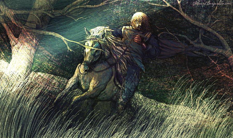 Knight by MauroBorgarello