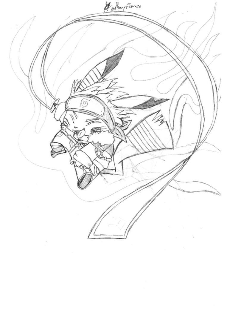 Naruto Nine Tailed Fox Form Drawings  Naruto Nine Tai...