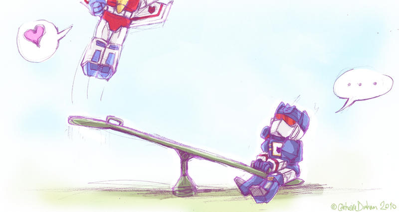 Decepticons at Play by CatusSnake