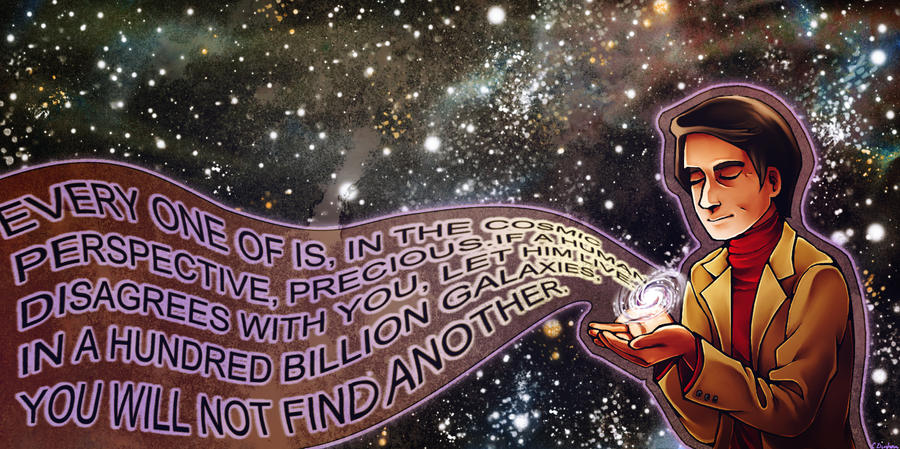 In a hundred billion galaxies by CatusSnake