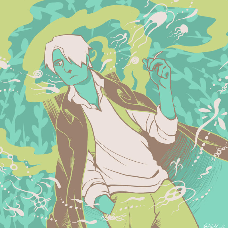Palette #40 - Ginko by CatusSnake