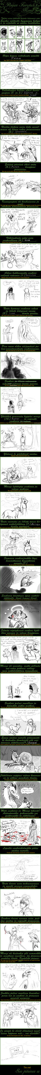 Fairytale-meme English version by dorini