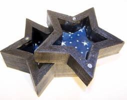 A Starry Night Trinket Box by AknieGirl