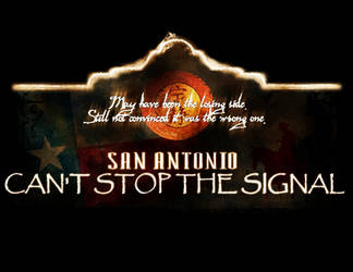 Can't Stop the Signal 2008 by exorcisingemily