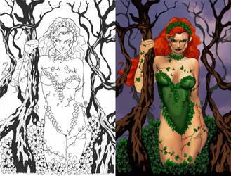 Poison Ivy by exorcisingemily