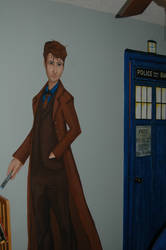Doctor Who Mural