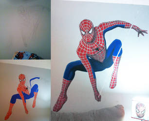 Spider-Man Mural by exorcisingemily