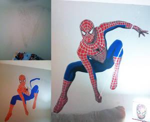 Spider-Man Mural