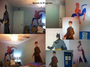 Murals In Progress