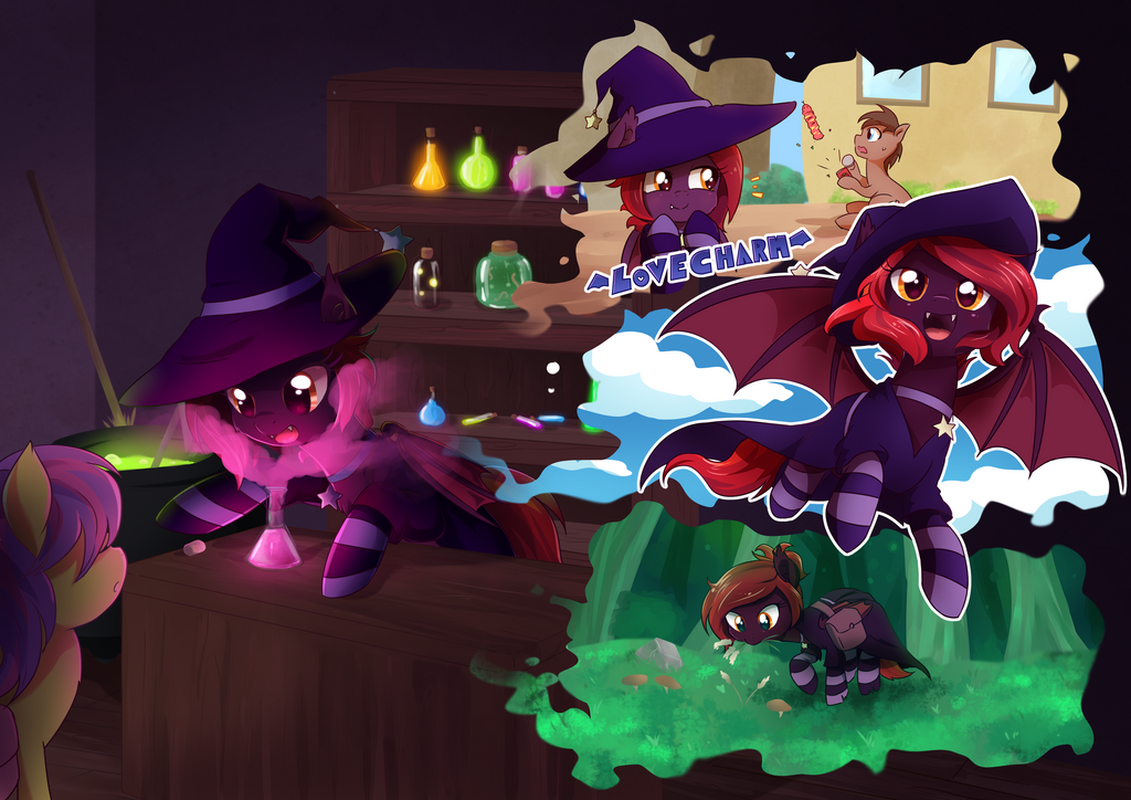 The many faces of a wacky witch by Sura-Resch