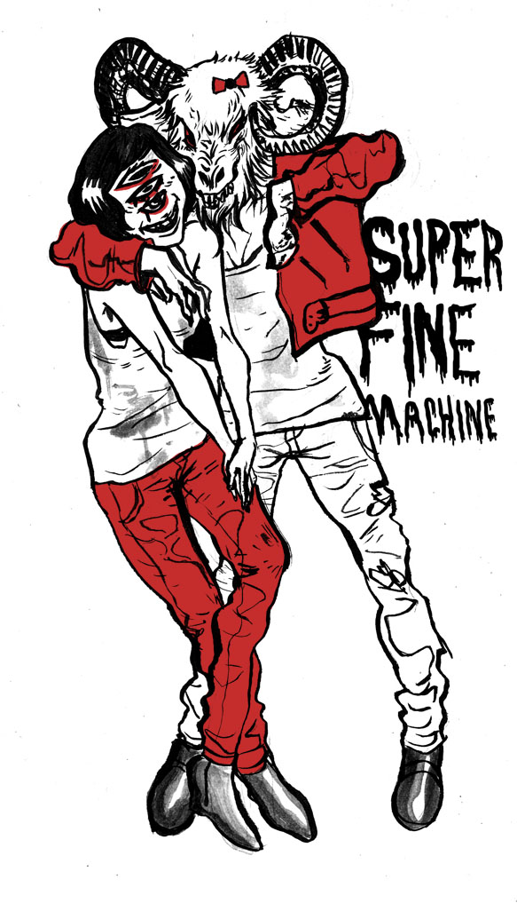super fine machine by strayheadache