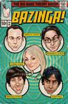 Big Bang Theory Comic Cover