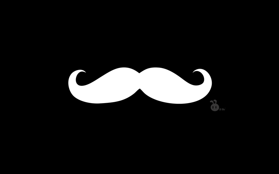 Mustache by axiacamous