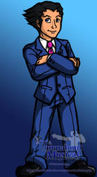 Phoenix Wright by kucan