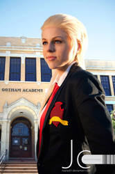 DC Universe - Artemis at Gotham Academy by Nayias01