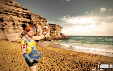 Final Fantasy 10 - A Beach Day with Sexy Wakka