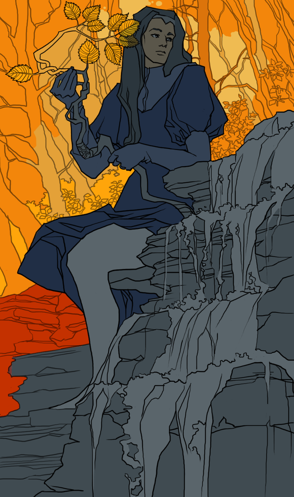 Sephiril (illustration) by quaedam