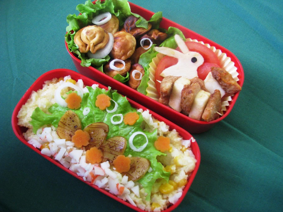 Easter bento II by CountessAudronasha