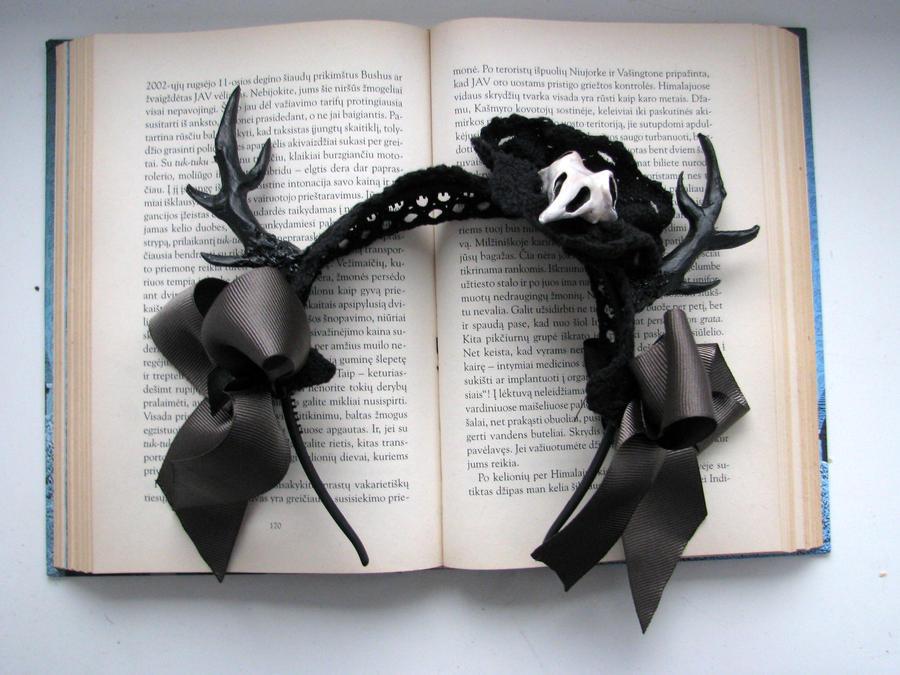 Enchanted deer hair piece by CountessAudronasha