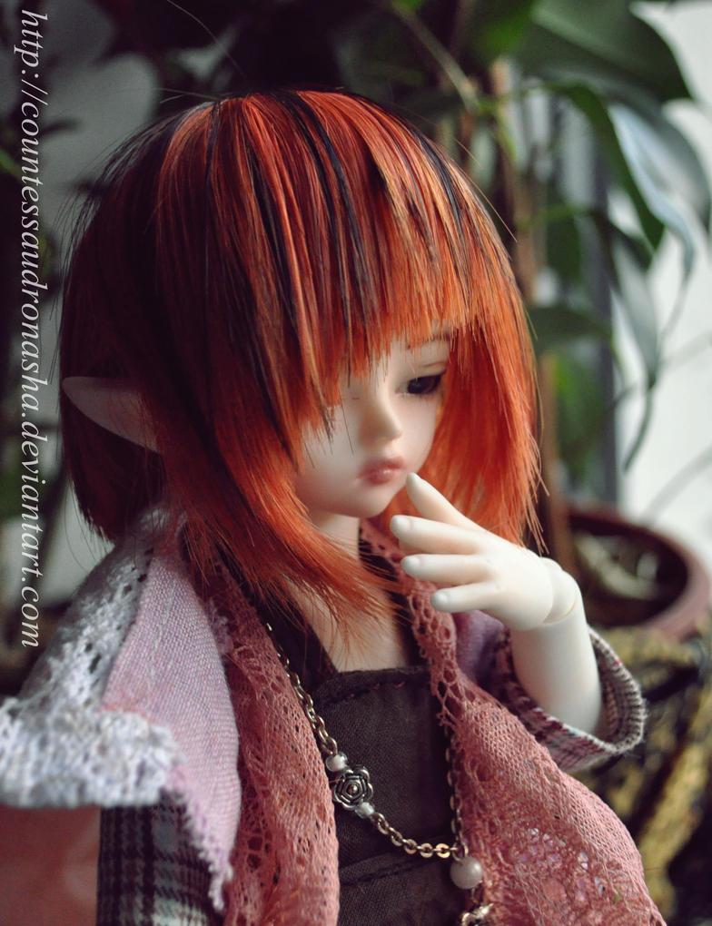 A new wig by CountessAudronasha