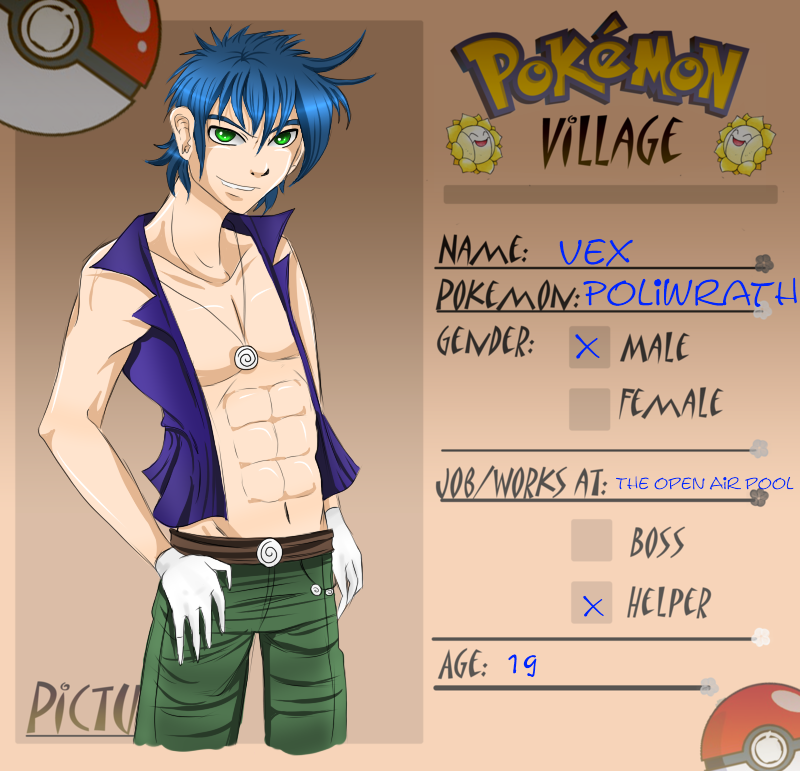 Poke-Village app by SugarYuyu