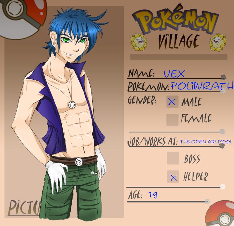Poke-Village app by SugarYuyu