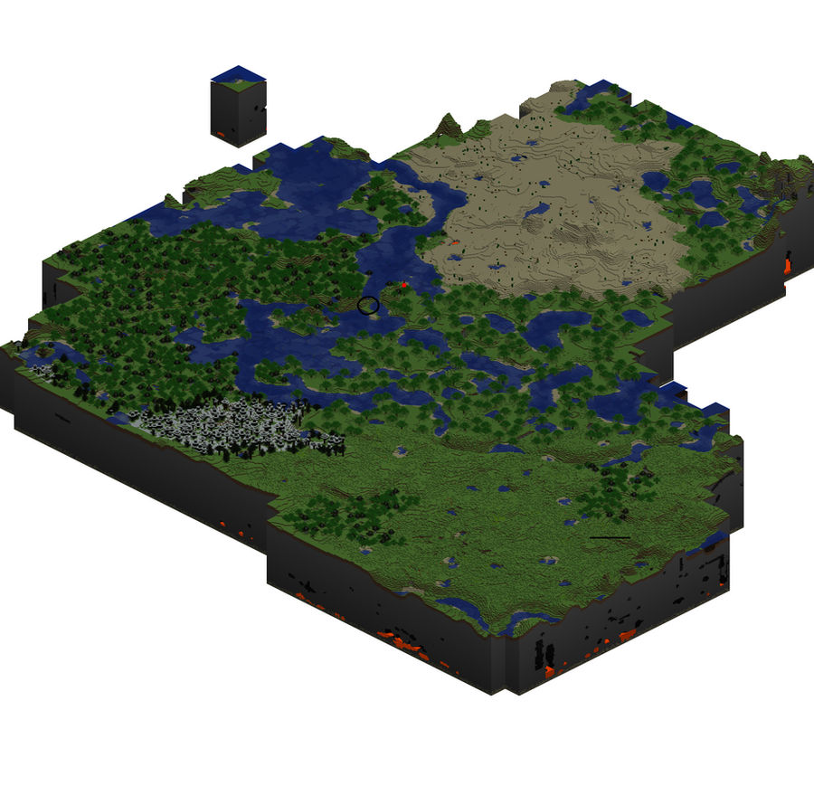 My Minecraft map-Isometric by MizaT11 on DeviantArt