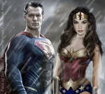 The Man of Steel and the Amazon Princess