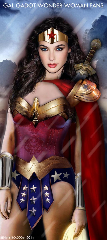 Battle Ready Wonder Woman by renstar71