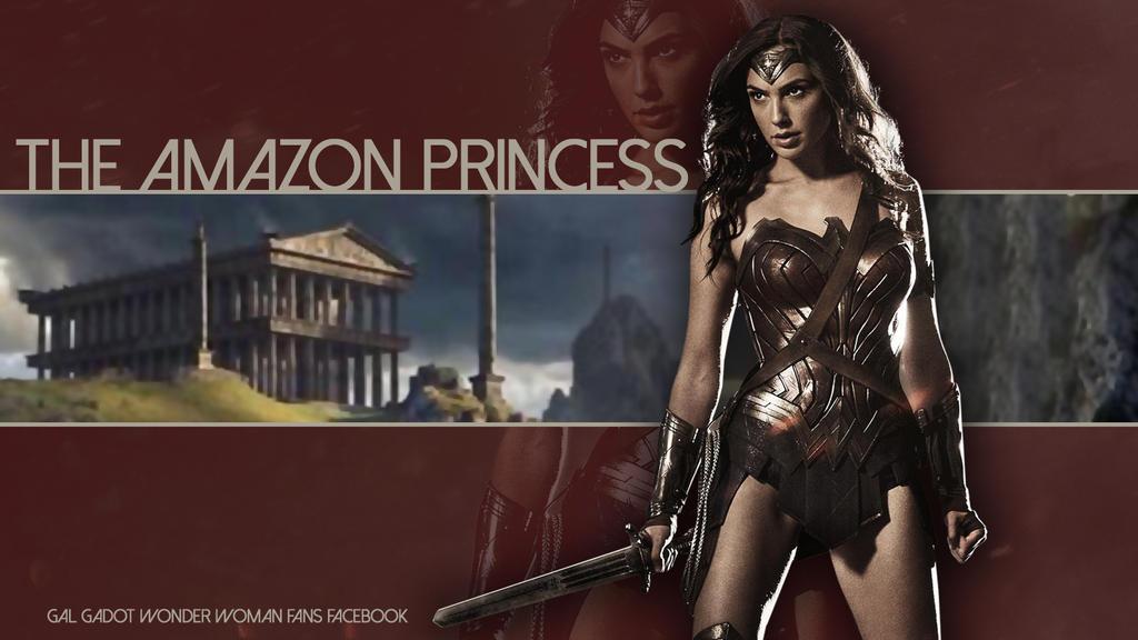 Wonder Woman Gal Gadot Wallpapers: Gal Gadot Wonder Woman Wallpaper By Renstar71 On DeviantArt