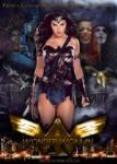 Wonder Woman Movie Poster Featuring Gal Gadot