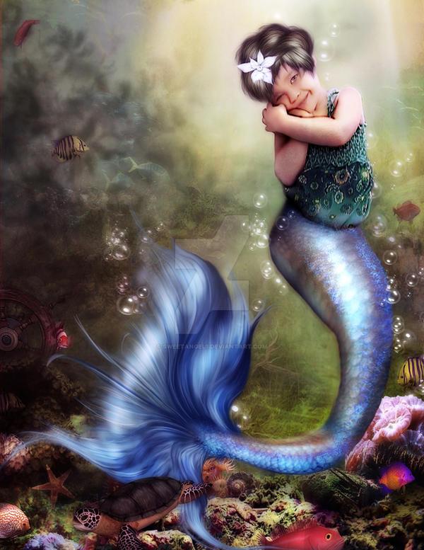 My little mermaid by sweetangel1 by sweetangel1
