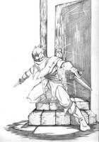 Halfling Rogue by Alistair-D-Borthwick