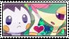 Snivy/Emolga Stamp by PrettyTak