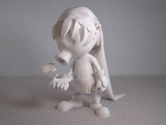 Deku Link miniature by CamiloVeliovich