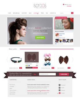 Sproos Shopify Template