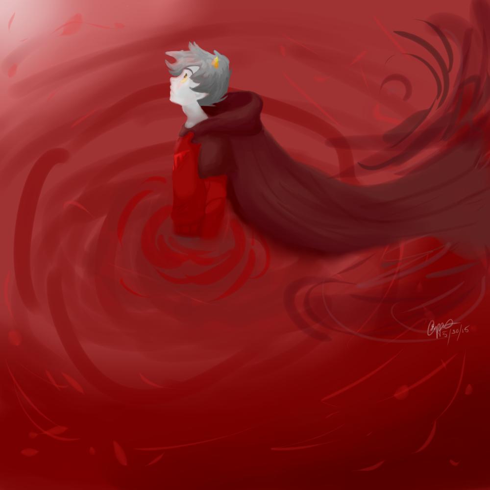 Karkat Knight of Blood by Mizzzen