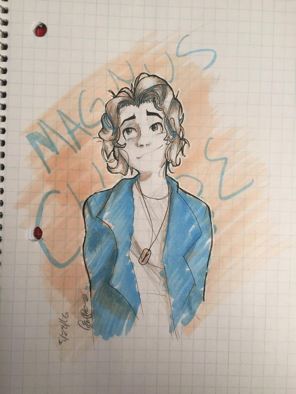 Magnus Chase by Mizzzen